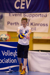 CEV 2015 European Championships Women - Northern Ireland v Scotland