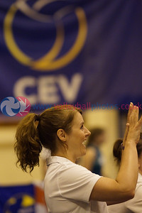 CEV 2015 Women's European Championships, SCD Pool A (Scotland), CYP 3 v 0 NIR (WSA-08) [15, 14, 4], Sunday 8th June 2014, Bell's Sport Centre, Perth, Scotland