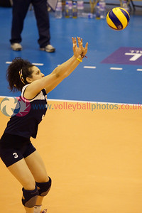 CEV 2015 Women's European Championships, SCD Pool A (Scotland), CYP 3 v 1 SCO (WSA-10) [25-17, 25-23, 22-25, 25-18], Sunday 8th June 2014, Bell's Sport Centre, Perth, Scotland