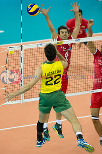FIVB World League Finals - BRA 1 v IRI 3 (21-25, 19-25, 25-23, 26-28)