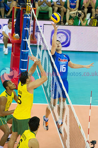 FIVB World League Finals - ITA 0 v 3 BRA (11, 23, 20)