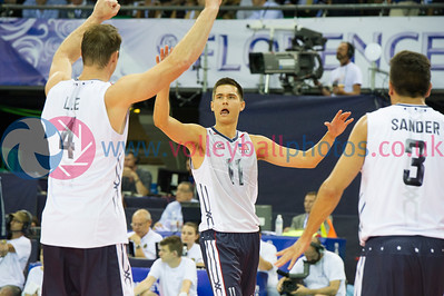 FIVB World League Finals - IRA 0 v 3 USA (18, 22, 16) at the Nelson Mandela Forum, Firenze.  © Lynne Marshall