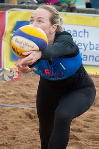 CEV Continental Cup, Round 2, Pool B (Women - Day 1), Sat 20th Sep 2014, Portobello, Scotland.  © Lynne Marshall