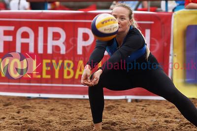 CEV Continental Cup, Round 2, Pool B (Women - Day 1), Sat 20th Sep 2014, Portobello, Scotland.