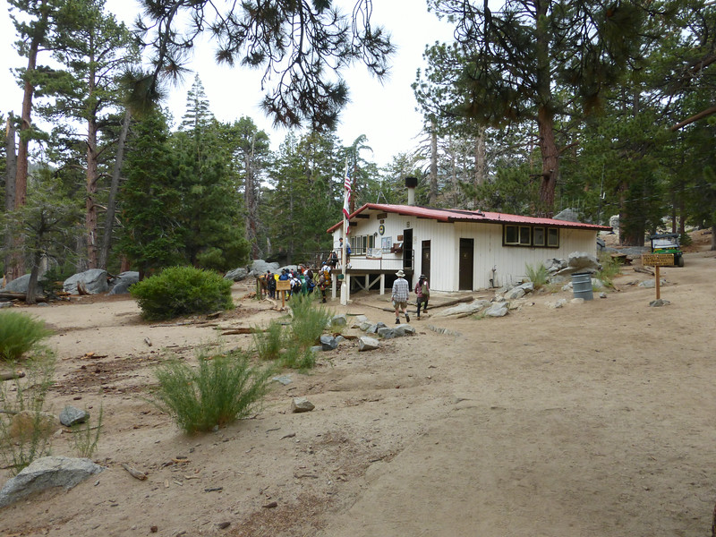 A bunch of folks at the Ranger Station