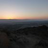 Sunrise over Palm Springs