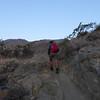 Fast hiker