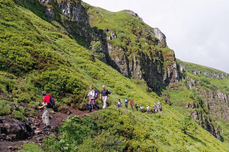 Lundi 30-06 - Puy de Peyre Arse - Sous les crêtes du Puy Mary