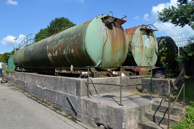3 x 100t Tank Barrels seen at Tebay services on M6 Jct 38. 84166, 84285, xx629