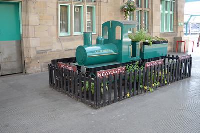 Carlisle Station steam train!!