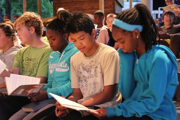 Sunday, June 8: camp-wide hymn sing