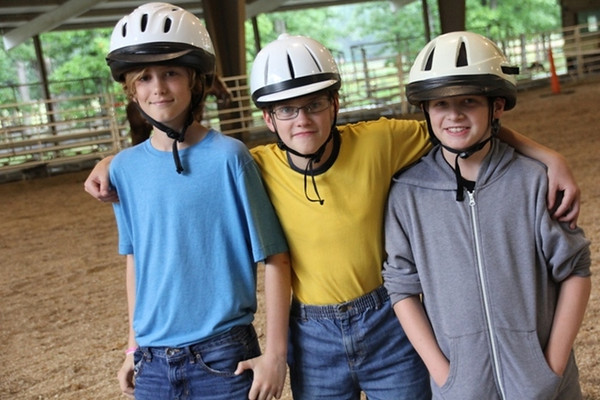 Monday, June 9: Josh and some boys in CIP ready to ride