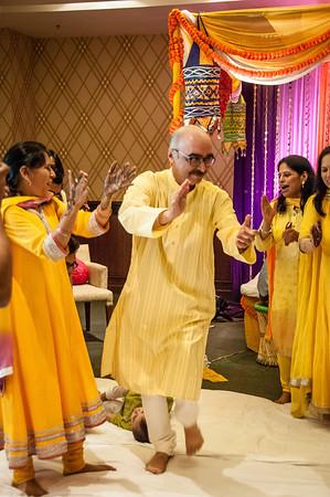 Chintan's Wedding, Mehndi