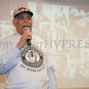 Former Brave and Negro League Baseball Player Gilbert Black was the guest speaker at Empowerment Temple Intl. on Sunday, February 23, 2014 for their Black History Month event. Hudson Valley Press/CHUCK STEWART, JR.