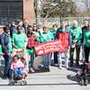 The Methodist & friends Build Team participates in Habitat for Humanity of Greater Newburgh's 15th Annual Walk for Housing on Sunday, April 27, 2014 in the City of Newburgh, NY. Hudson Valley Press/CHUCK STEWART, JR.