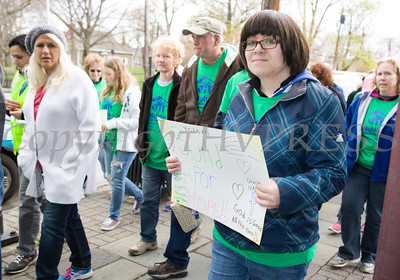 Habitat for Humanity of Greater Newburgh held its 15th Annual Walk for Housing in the City of Newburgh on Sunday, April 27, 2014. Hudson Valley Press/CHUCK STEWART, JR.