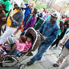 Hundreds of walkers filled the streets for Habitat for Humanity of Greater Newburgh's 15th Annual Walk for Housing on Sunday, April 27, 2014 in the City of Newburgh, NY. Hudson Valley Press/CHUCK STEWART, JR.