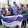 A Walk for an Angel, Cathy Amoia, Team participates in Habitat for Humanity of Greater Newburgh's 15th Annual Walk for Housing on Sunday, April 27, 2014 in the City of Newburgh, NY. Hudson Valley Press/CHUCK STEWART, JR.