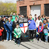 The Episco-Build Team participates in Habitat for Humanity of Greater Newburgh's 15th Annual Walk for Housing on Sunday, April 27, 2014 in the City of Newburgh, NY. Hudson Valley Press/CHUCK STEWART, JR.
