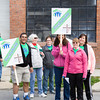 PresbyBuild Team participates in Habitat for Humanity of Greater Newburgh's 15th Annual Walk for Housing on Sunday, April 27, 2014 in the City of Newburgh, NY. Hudson Valley Press/CHUCK STEWART, JR.