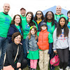 Horizons on the Hudson School Team participates in Habitat for Humanity of Greater Newburgh's 15th Annual Walk for Housing on Sunday, April 27, 2014 in the City of Newburgh, NY. Hudson Valley Press/CHUCK STEWART, JR.