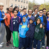 Zeta Phi Beta Sorority Inc., Iota Pi Zeta Chapter and youth auxiliary groups, participate in Habitat for Humanity of Greater Newburgh's 15th Annual Walk for Housing on Sunday, April 27, 2014 in the City of Newburgh, NY. Hudson Valley Press/CHUCK STEWART, JR.