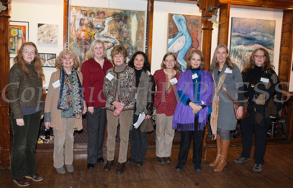The Howland Cultural Center in Beacon celebrated Women's History Month with an art exhibit that featured work by artists Gwenno James, Stephanie Fogarty, Anne Forman, Helen Lang, Insun Kim, Robyn Tauss, Janice Ruhe-Schoen, Kate Vikstrom and Mary Ann Glass. The exhibit  opened on Saturday, March 1. Hudson Valley Press/CHUCK STEWART, JR.