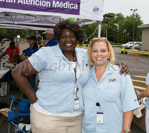 Hudson Health Plan hosted a free Bicycle Safety Rodeo on Saturday, August 16, 2014, at Second Baptist Church in Middletown, NY. Hudson Valley Press/CHUCK STEWART, JR.