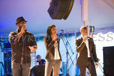 Michael, Nadia and Avery Cole, known as The Voices of Glory, performed at the 26th Annual International Festival held over the Labor Day Weekend in the City of Newburgh. Hudson Valley Press/CHUCK STEWART, JR.