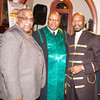 Rev. Dr. Ronald Perry, Rev. Byron Williams and Rev. Dr. Erik Maurice Pogue, who was installed as the new pastor of New Hope Missionary Baptist Church on Sunday, March 30, 2014 in Newburgh, NY. Hudson Valley Press/CHUCK STEWART, JR.