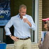 "US Rep Sean Patrick Maloney speaks with Fran Shapiro during his ""Speak with Sean"" series, his local neighborhood office hours, in New Windsor, NY on Saturday, July 19, 2014. Hudson Valley Press/CHUCK STEWART, JR."