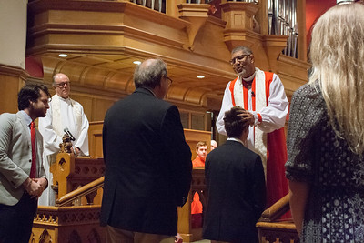 Confirmations with Bishop Wright