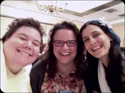 Farpoint - me, Christine, Janine