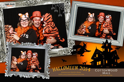 Cottonwood Mall Halloween 2014