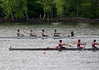 Boys Novice Four past the finish line