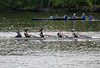 Girls Novice Four racing
