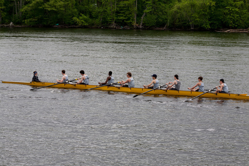 Boys Novice Eight after the race