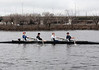 Boys 3V racing: Will M (cox), Will F, Ted, Will E, and Jacob