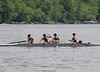 Boys 1V returning from the race - Nick, Nate, Colin, Jonah, and Ben (cox)