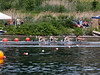 Boys 1V racing, at the finish line