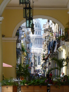 View down Calle Brasil from Plaza Vieja - Matt Brady