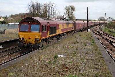 66167 1104/6f11 Hunber-Cottam passes Barnetby.
