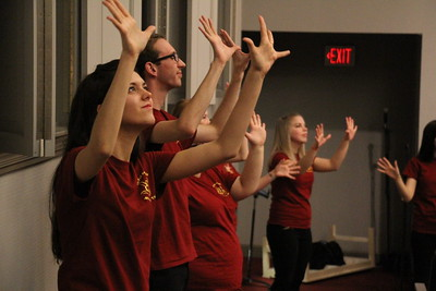 "Joyful Hands puts on a Megabash benefit concert including performances by Joyful Hands, Heart of Fire dance ministry, and the Gospel Choir. All three groups combined for a combined performance of ""Open the Eyes of My Heart"" by Michael W. Smith."