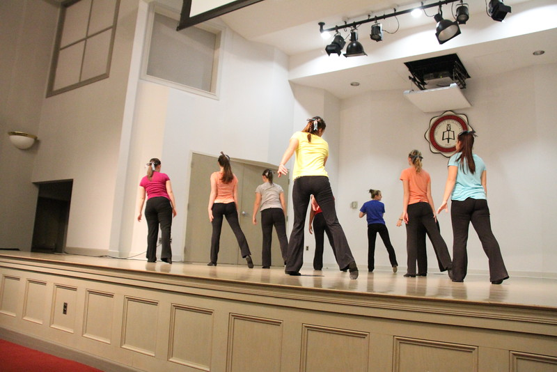 """Joyful Hands puts on a Megabash benefit concert including performances by Joyful Hands, Heart of Fire dance ministry, and the Gospel Choir. Heart of Fire Performs to the song """"Words""""."""