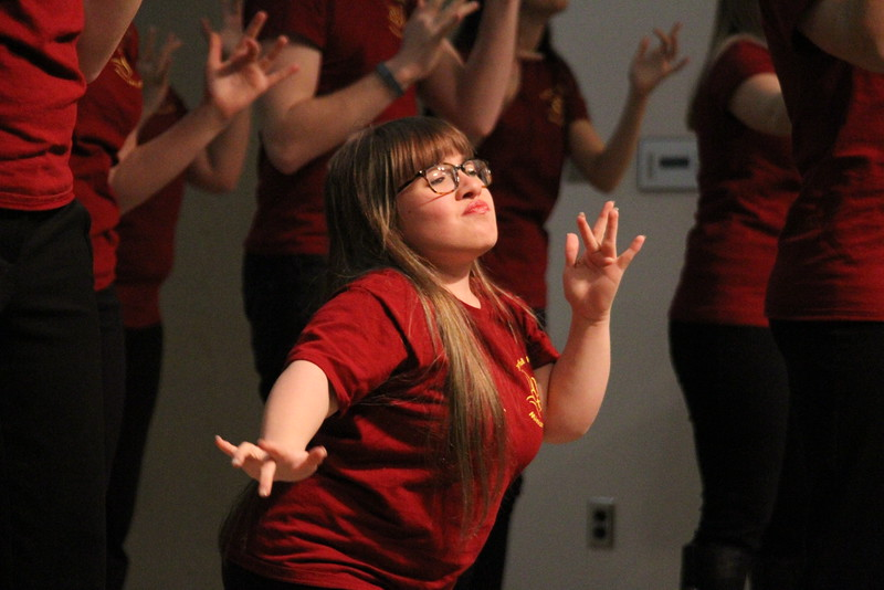 Joyful Hands puts on a Megabash benefit concert including performances by Joyful Hands, Heart of Fire dance ministry, and the Gospel Choir.