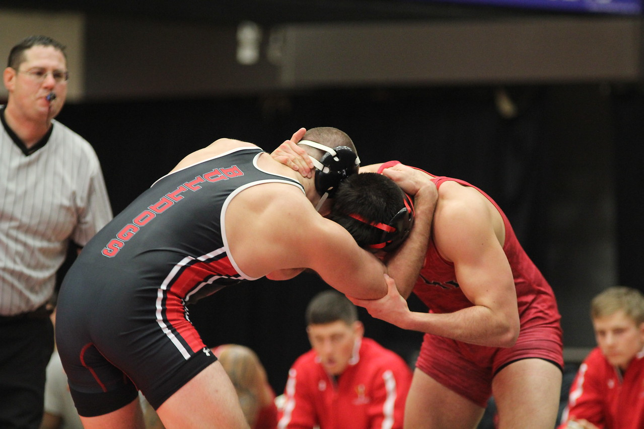 On Wednesday night, December 3rd, Gardner-Webb hosted their first home wrestling match of the season against VMI, beating them with a final score of 31-9.