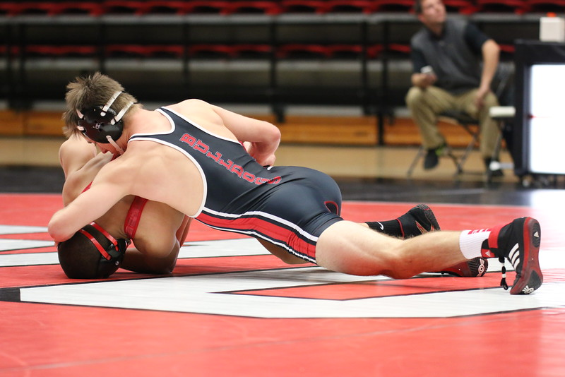 Wrestling defeats VMI 31-9 in season home opener Wednesday night. Tyler Ziegler (GWU) dec. Hunter Starner (VMI), 5-1 – 6-0