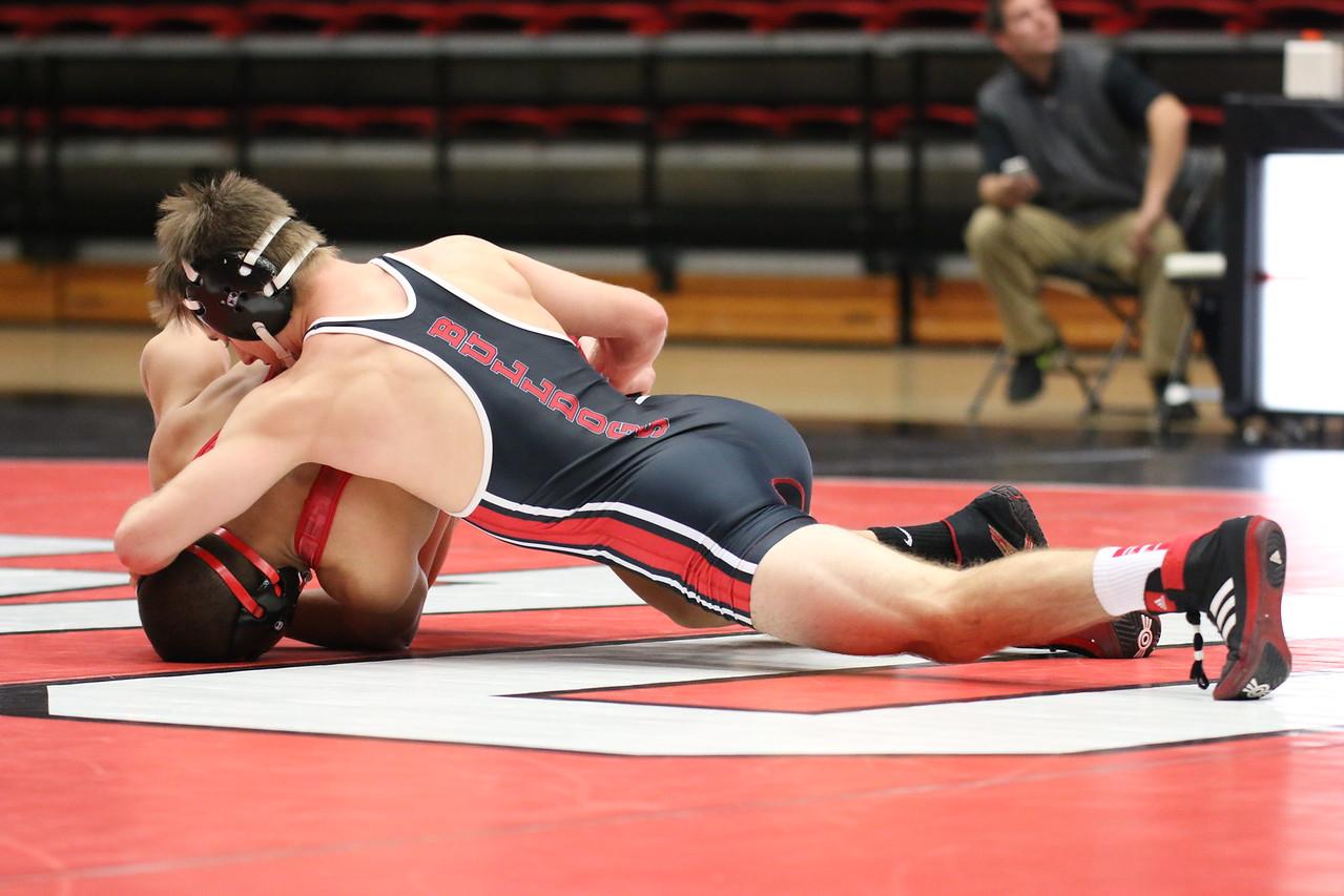 Wrestling defeats VMI 31-9 in season home opener Wednesday night. Tyler Ziegler (GWU) dec. Hunter Starner (VMI), 5-1 – 6-0