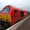 DB Schenker Class 67 no. 67018 Keith Heller at Banbury on a Chiltern Mainline service to Birmingham.