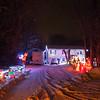 JOED VIERA/STAFF PHOTOGRAPHER-Lockport, NY- A Royalton home put up great Christmas decorations. Thursday, December 11, 2014